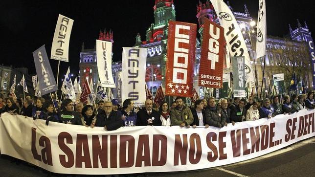 Los madrileños dan un sobresaliente a la sanidad pública madrileña