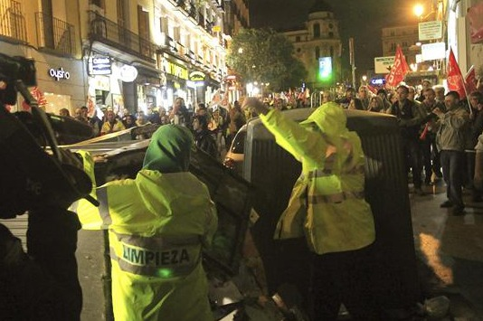 La izquierda sigue boicoteando Madrid
