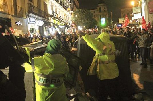 Huelga_limpieza_en_Madrid